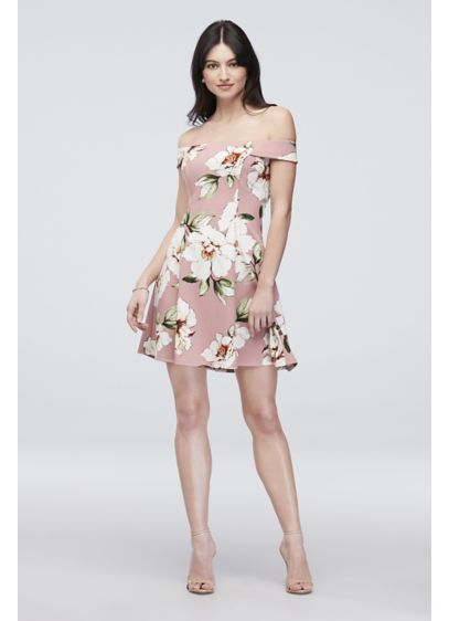 Short Sheath 3/4 Sleeves Cocktail and Party Dress - Speechless