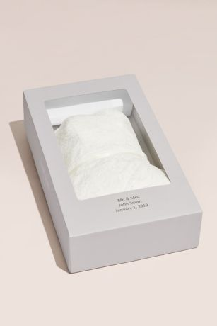 Wedding dress preservation and cleaning kit david 39 s bridal for Wedding dress cleaning and preservation