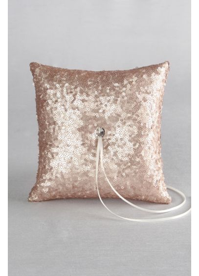 Sequin Ring Bearer Pillow - Wedding Gifts & Decorations