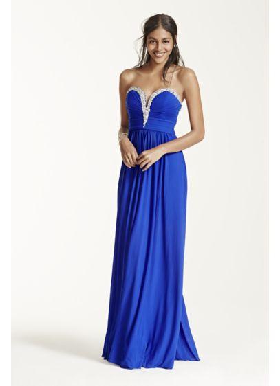 Long Sheath Strapless Prom Dress - Beyond by Jovani