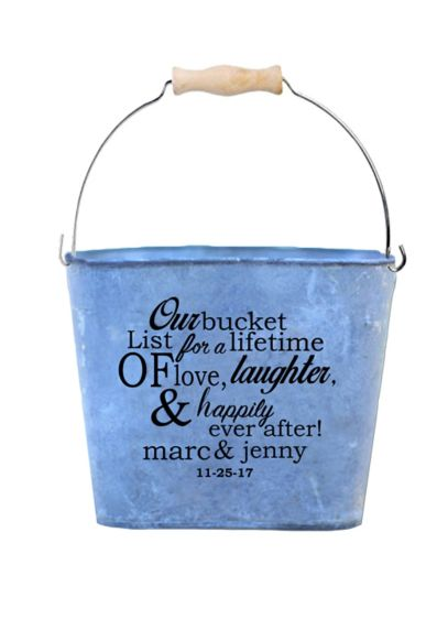 Personalized Bucket List Guest Book Alternative - Wedding Gifts & Decorations