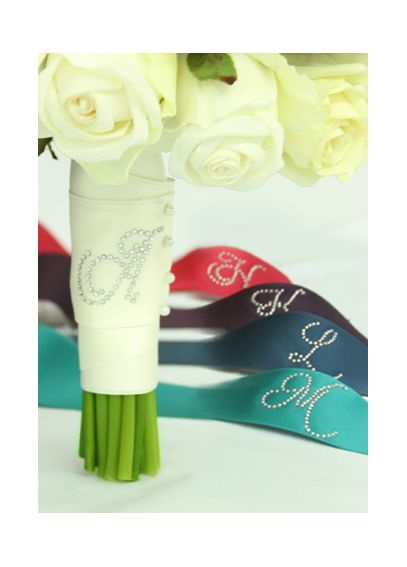 DB Exclusive Rhinestone Initial Bouquet Wrap DB1008