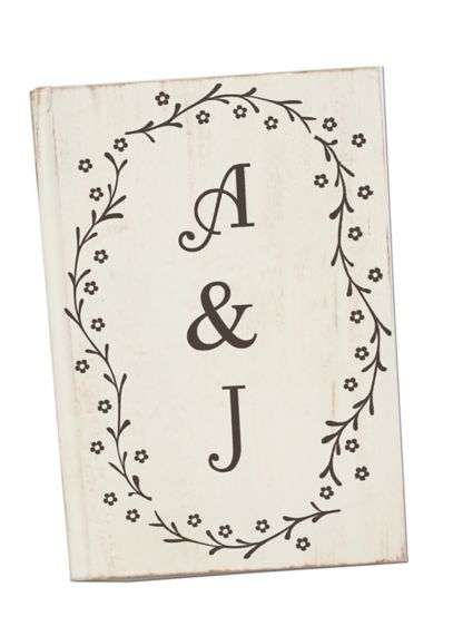 Personalized Wedding Guest Book - Wedding Gifts & Decorations