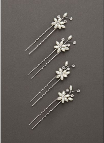 Floral Hair Pins - Wedding Accessories
