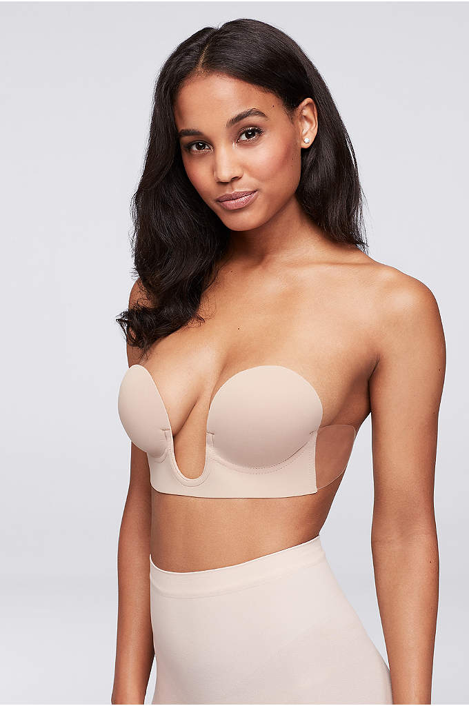 Fashion Forms Strapless Backless Plunge Bra - This strapless plunge bra is a must-have for
