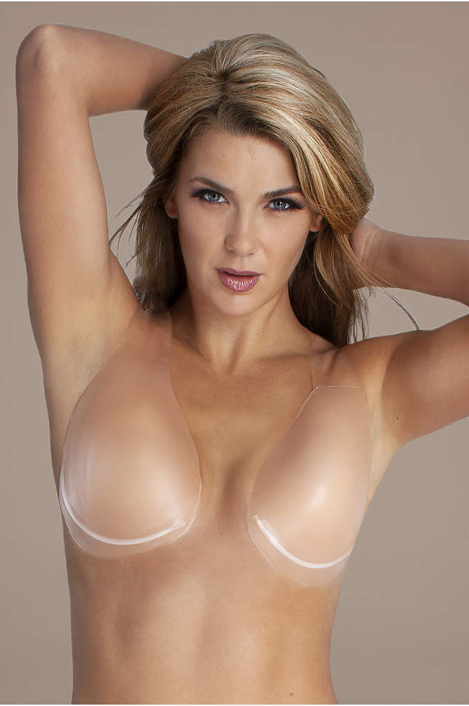 Fashion Forms Voluptuous Silicone Lift - With an invisible halter strap, this adhesive backless