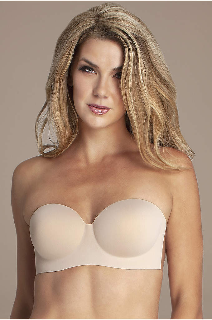 Fashion Forms Voluptuous Backless Strapless Bra - This molded adhesive backless bra is the perfect