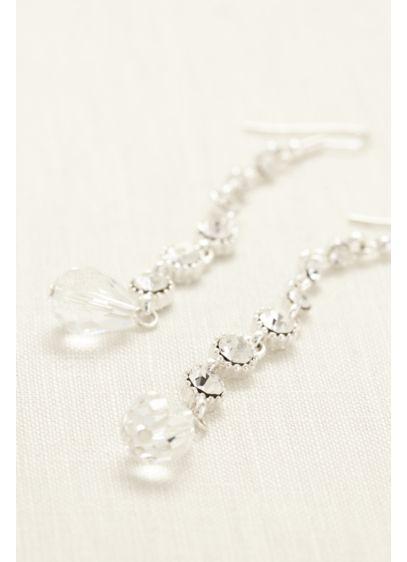 Single Strand Drop Earring - Wedding Accessories