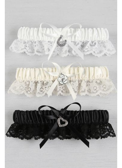 White (Choose Your Charm Garter)