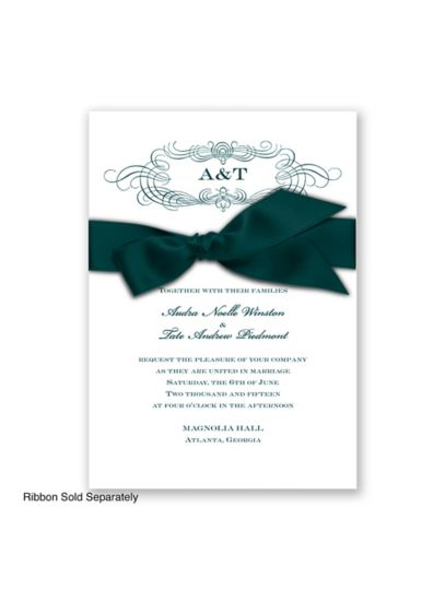 Down the Aisle Invitation Sample - Wedding Gifts & Decorations