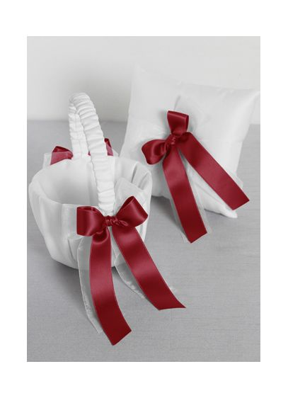 DB Exclusive Simply Chic Basket and Pillow Set - Wedding Gifts & Decorations