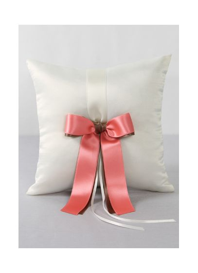 DB Exclusive Double Ribbon Ring Pillow - Wedding Gifts & Decorations