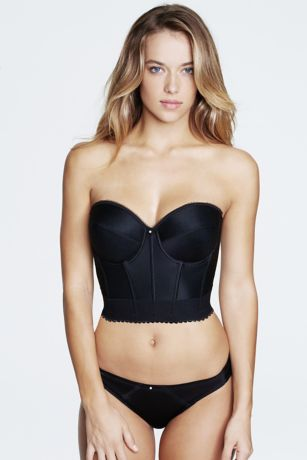 Dominique Backless Strapless Longline - Super-shaping, corset-style longline bra for amazing backless support