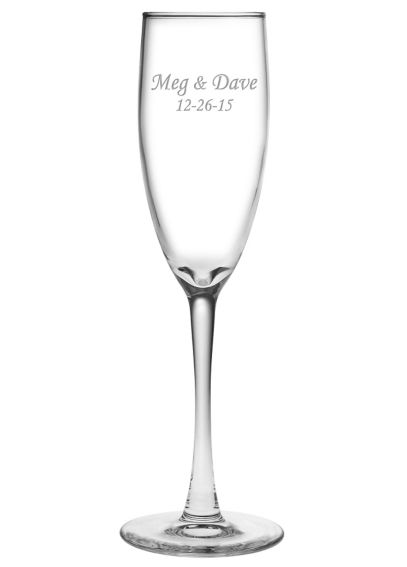 Personalized Montego Toasting Flute DB6854MT1