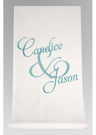 Personalized Watercolor First Names Aisle Runner DB71005