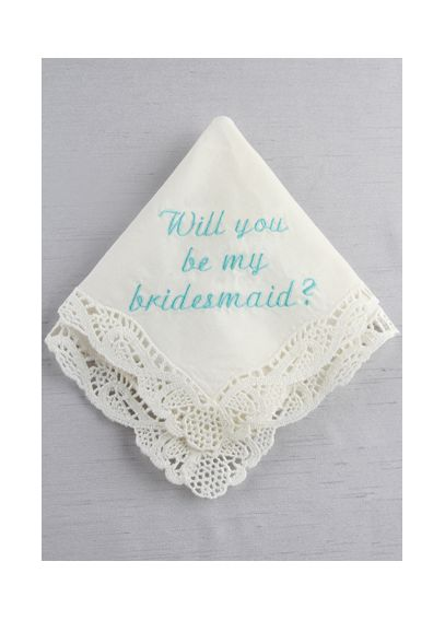DB Exc Will You Be My Bridesmaid Embroidered Han DB71020
