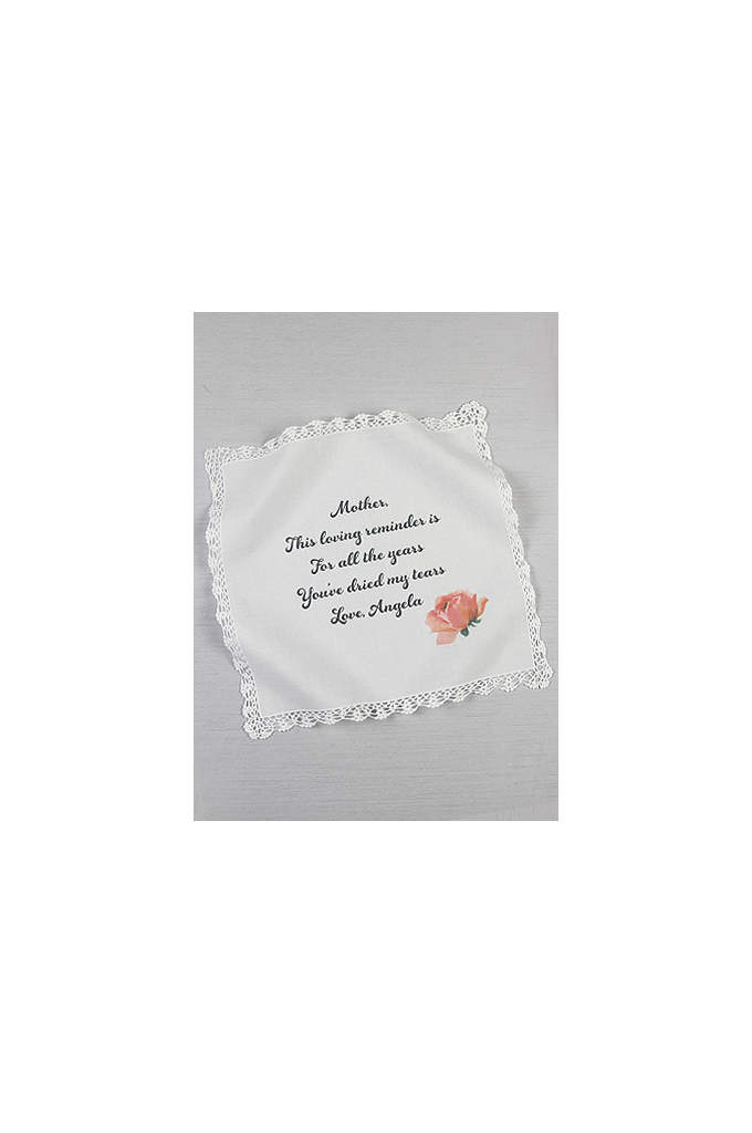 Personalized Mothers Tears Hankie - This beautiful hankie is the perfect gift for
