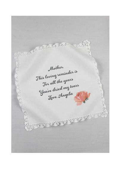 Personalized Mothers Tears Hankie DB71023