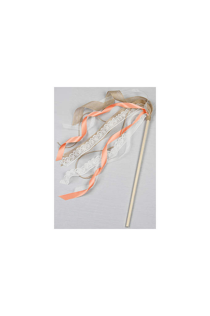 DB Exclusive Ribbon Flower Girl Wand - Incorporate this whimsical wand into your wedding with