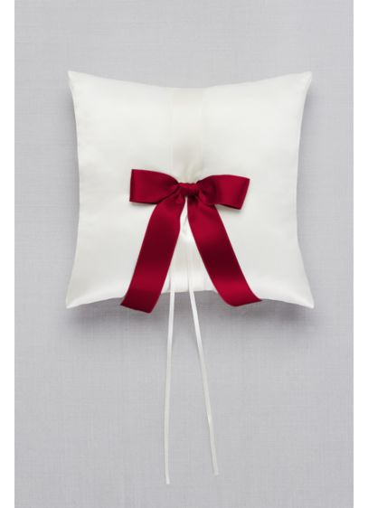 DB Exclusive Single Ribbon Ring Pillow - Wedding Gifts & Decorations