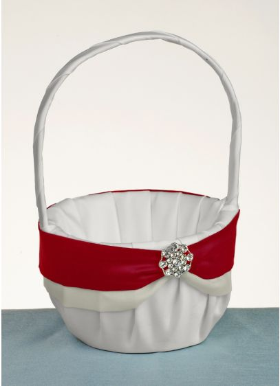 DB Exclusive Luxurious Life Flower Girl Basket - Wedding Gifts & Decorations