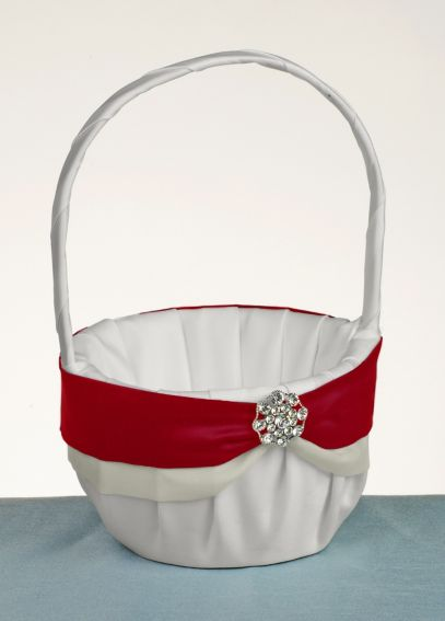 DB Exclusive Luxurious Life Flower Girl Basket DB73FGB