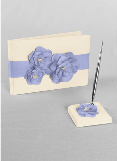 Ivory (DB Exclusive Floral Desire Guest Book and Pen Set)