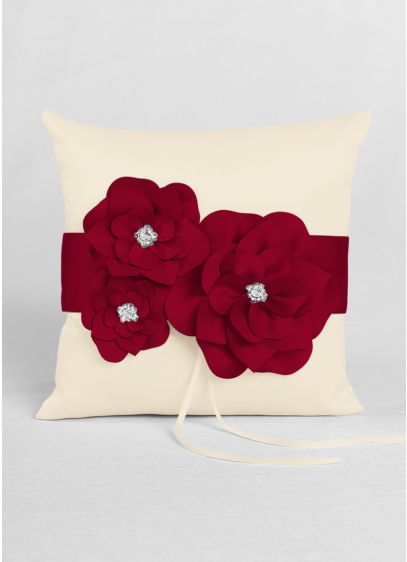 DB Exclusive Floral Desire Ring Pillow - Wedding Gifts & Decorations