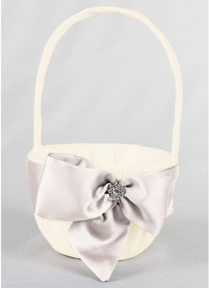 DB Exclusive Regal Ties Flower Basket - Wedding Gifts & Decorations