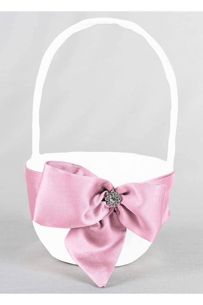 DB Exclusive Regal Ties Flower Basket - David's Bridal Exclusive flower girl basket featuring a