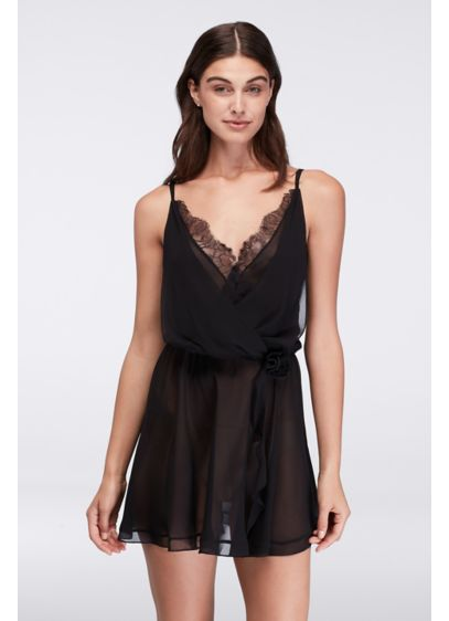 Flora Nikrooz Chiffon Tank Babydoll - Wedding Accessories