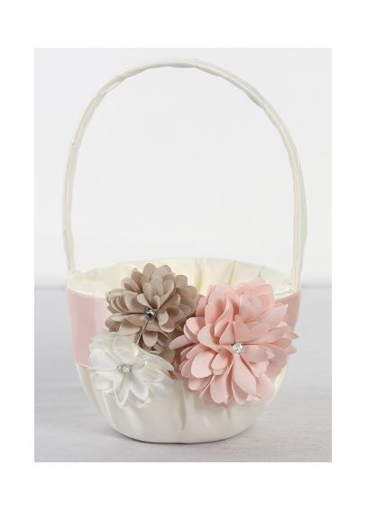 DB Exclusive Perfect Petals Flower Girl Basket DB82FGB
