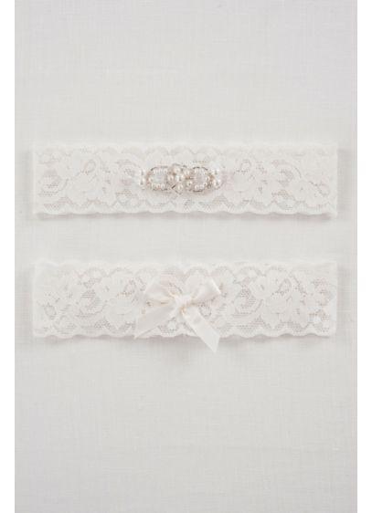 DB Exclusive Lace Elegance Bridal Garter Set - Wedding Accessories