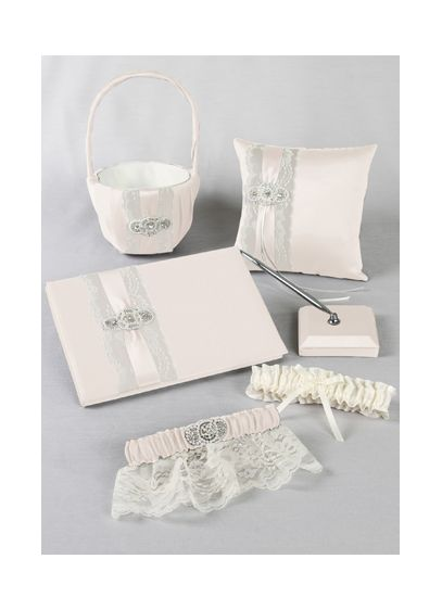 DB Exclusive Pearl Lace Collection Set - Wedding Gifts & Decorations