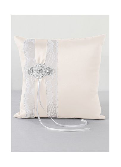 DB Exclusive Pearl Lace Ring Bearer Pillow - Wedding Gifts & Decorations
