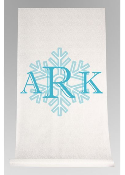 DB Exc Personalized Snowflake Monogram Runner DB91705