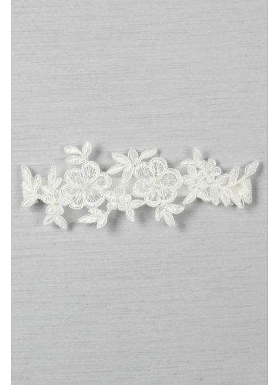 Sophia Applique Garter - Wedding Accessories