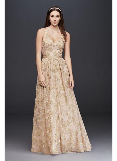 Long A-Line Beach Wedding Dress - Xscape