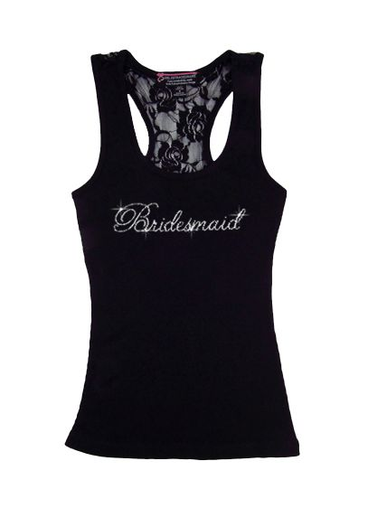 DB Exclusive Bridesmaid Lace Tank - Wedding Gifts & Decorations