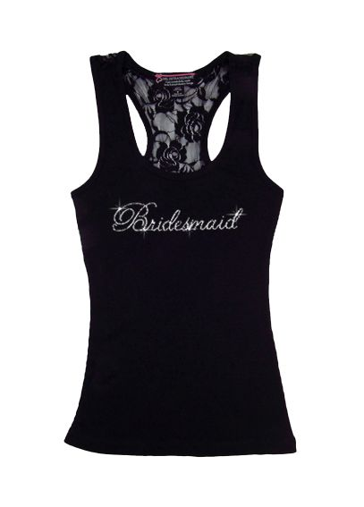 DB Exclusive Bridesmaid Lace Tank DBBMLT