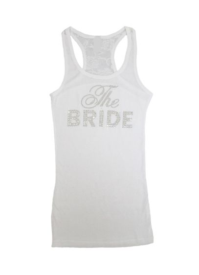 DB Exclusive The Bride Lace Racerback Tank - Wedding Gifts & Decorations