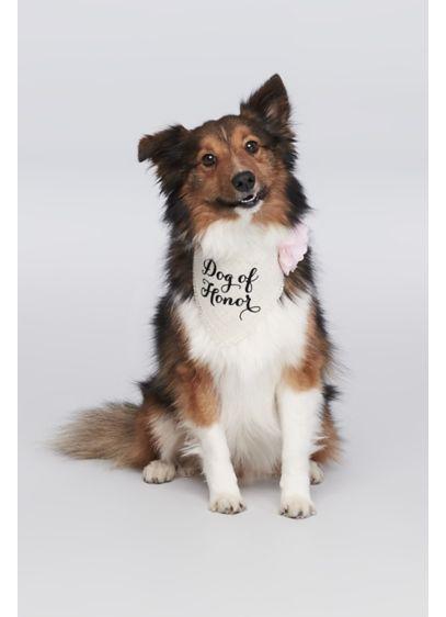 Dog of Honor Flower Bandana - Wedding Gifts & Decorations