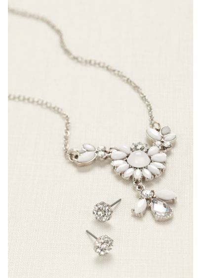 FG Mini Statement Necklace and Earring Set - Wedding Accessories