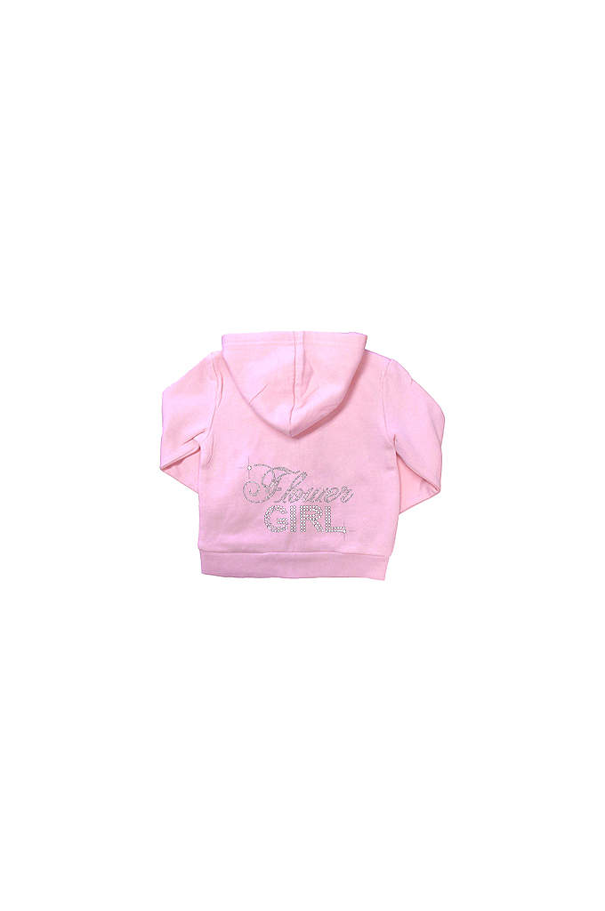 Big Bling Rhinestone Flower Girl Hoodie - Our adorable Rhinestone Flower Girl Hoodie/Sweatshirt is a