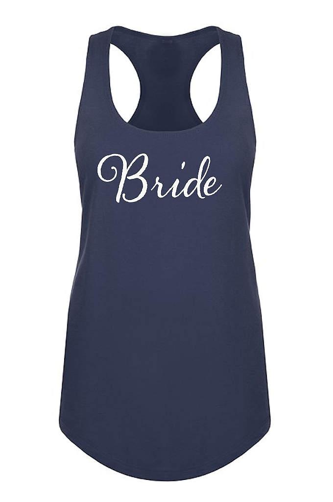 Bride Racerback Tank Top - Our sleek flowy racerback tank features Bride in