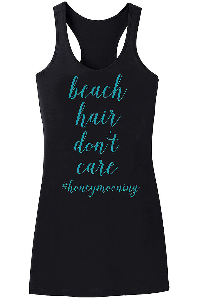 Beach Hair Dont Care Swim Cover Up - Stroll along the beach while on your honeymoon