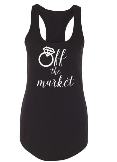 Off the Market Racerback Tank Top - Wedding Gifts & Decorations