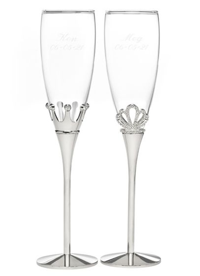 Personalized Fairytale Flutes - Wedding Gifts & Decorations