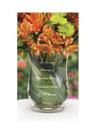 Personalized  Memorial Vase DBK1593AP