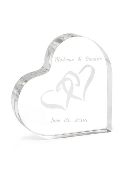 Personalized Eternal Love Cake Top - Wedding Gifts & Decorations
